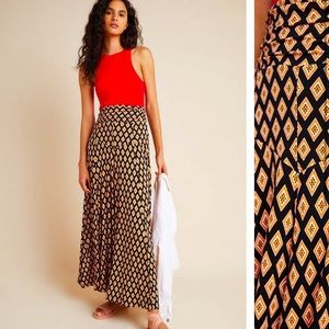 Anthropologie Maeve Madiana Knit Maxi Skirt XLP